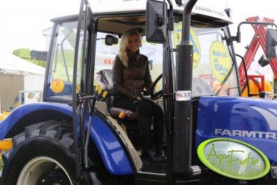 Stoisko Farmtrac na Agroshow 2013