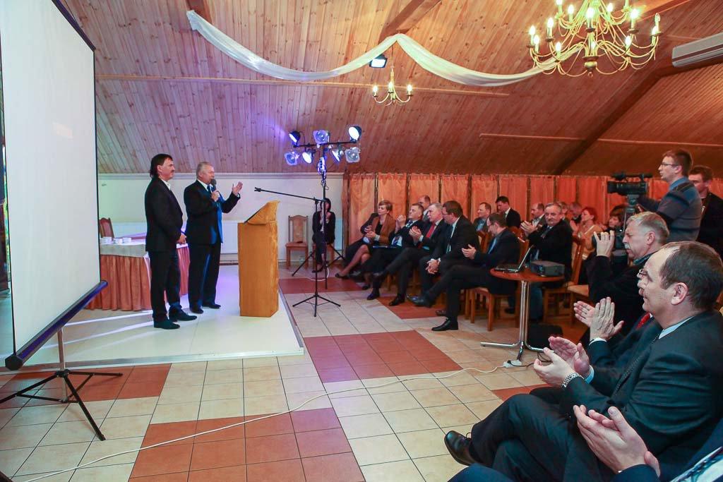 Leszek Hądzlik oraz Krzysztof Banach- Podlaskie Forum Bydla 2013