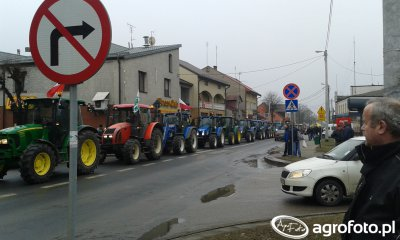 Protest Rolniczy Maków Mazowiecki