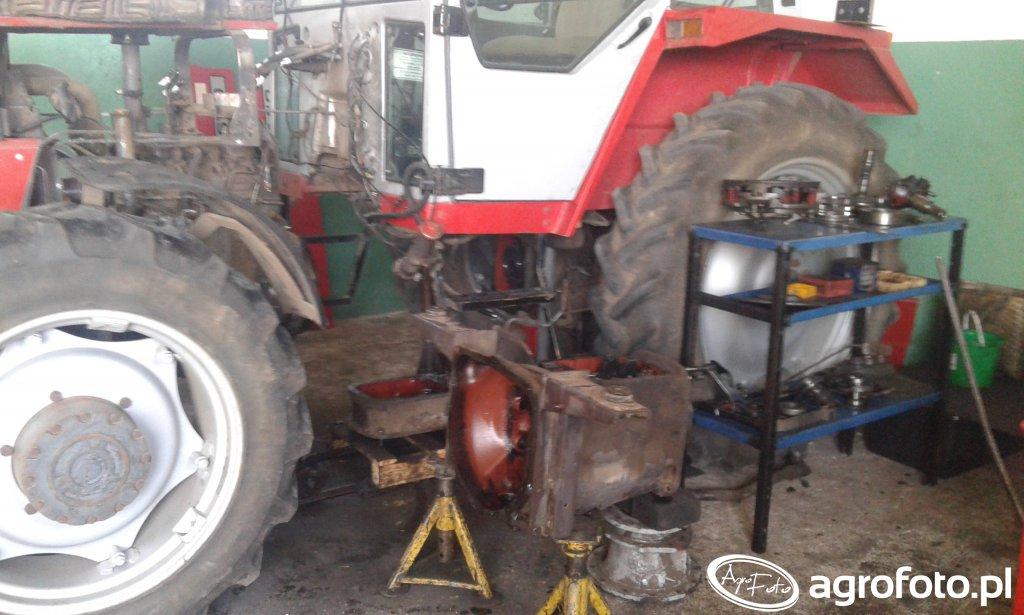 Masey Ferguson 690 remont skrzyni