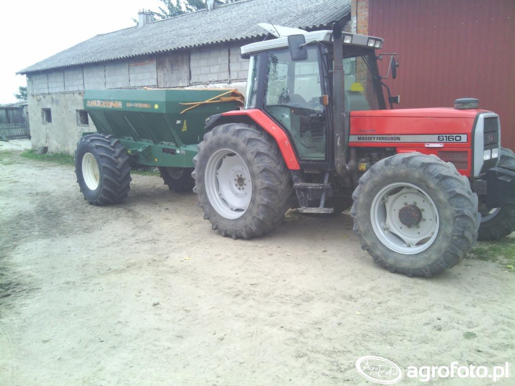 Massey Ferguson 6160 & Amazone ZGB-6000