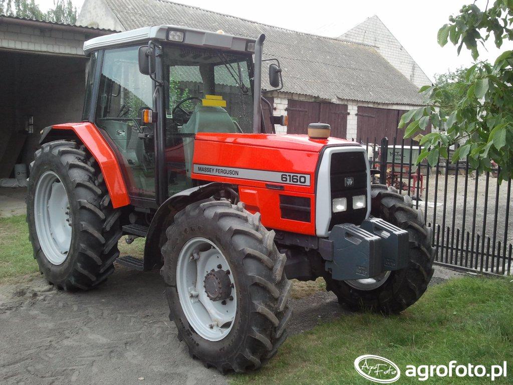 Zdjęcie ciagnik Massey Ferguson 6160 #617607 - Galeria rolnicza agrofoto