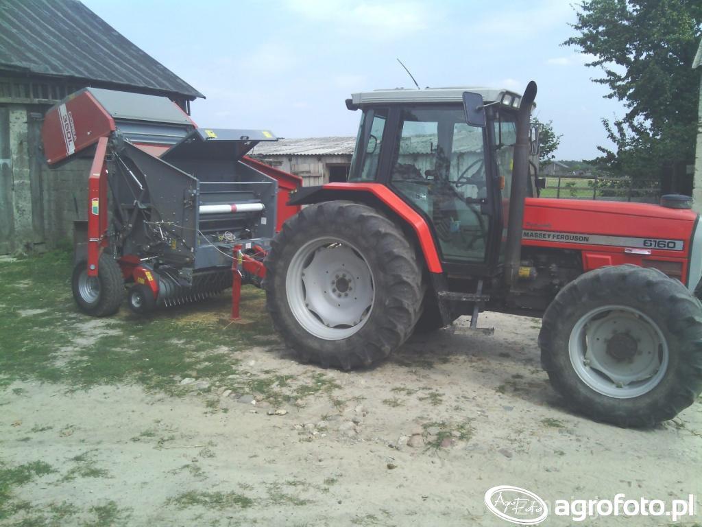 Foto ciagnik Massey Ferguson 6160 id:603966 - Galeria rolnicza agrofoto