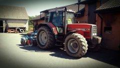Massey Ferguson 8110 & Agro-Lift