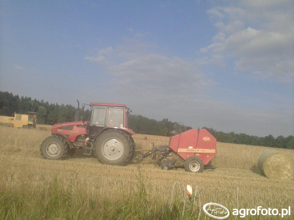 Belarus 1221.3 & Vicon RF 120 L & Bizon z056