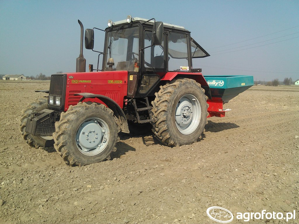 Belarus 820 & sulky dpx1503