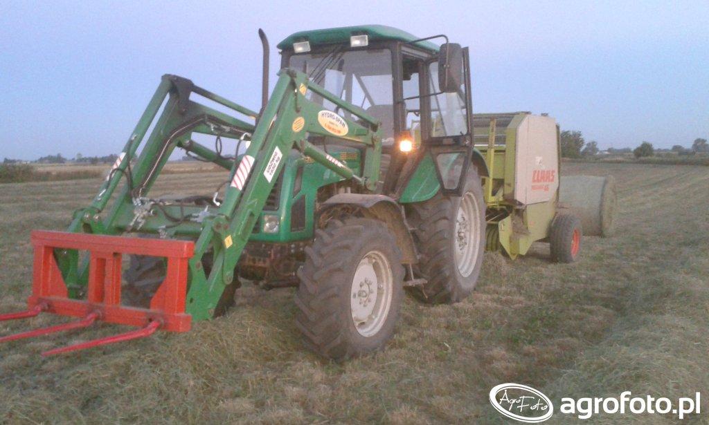 Belarus 920 & Claas Rollant 46
