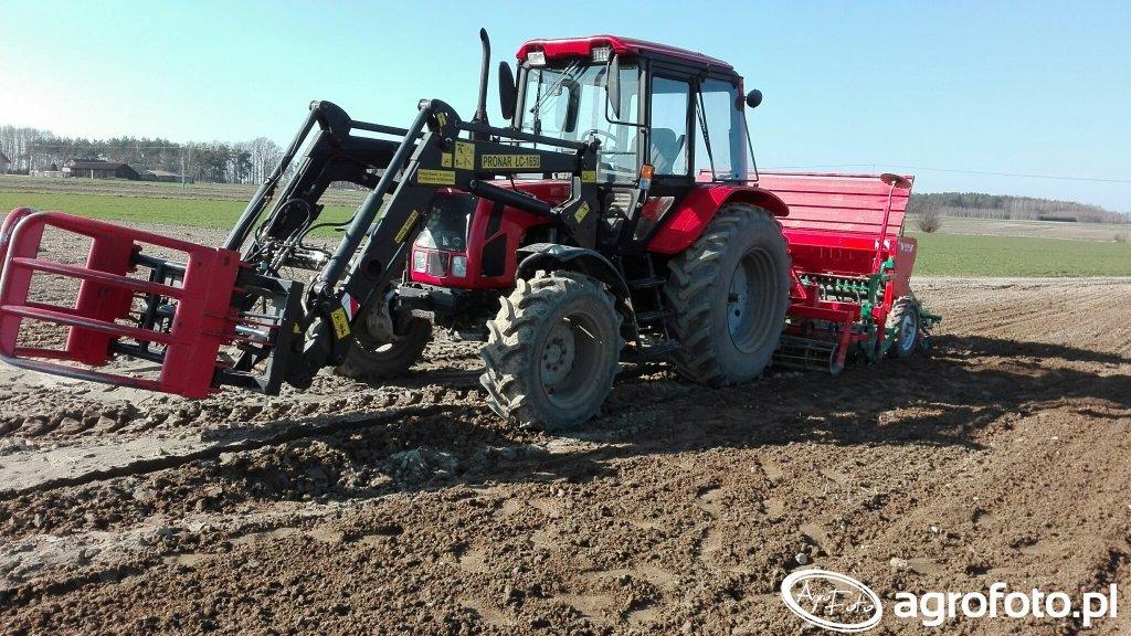 Belarus 952.2 + zestaw Agro-Masz 3 m