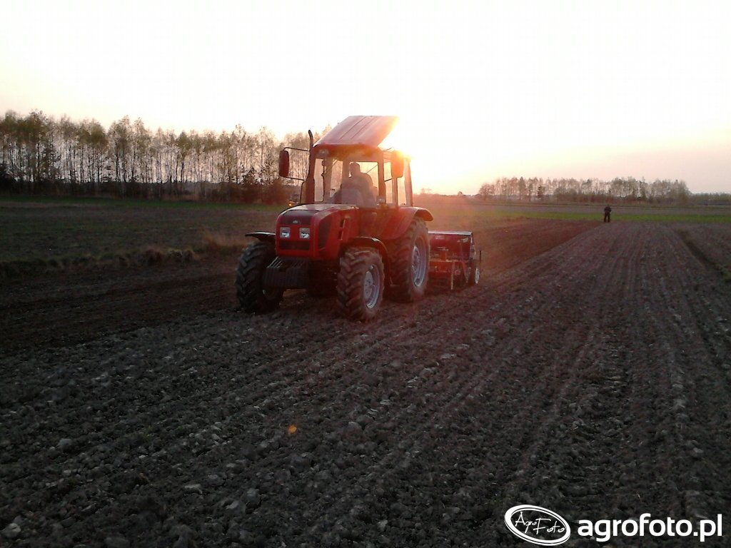 Belarus 952.4 + Rol/Ex Terra & Poznaniak