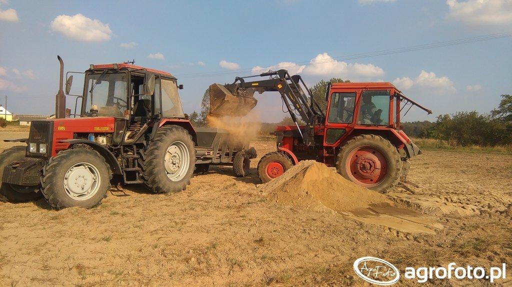 Belarus952+RCW i MTZ82+Hydramet 15