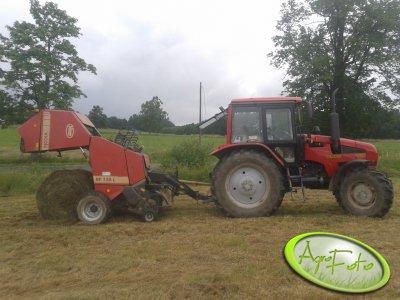 Belarus 1221.3  &  Vicon RF120L