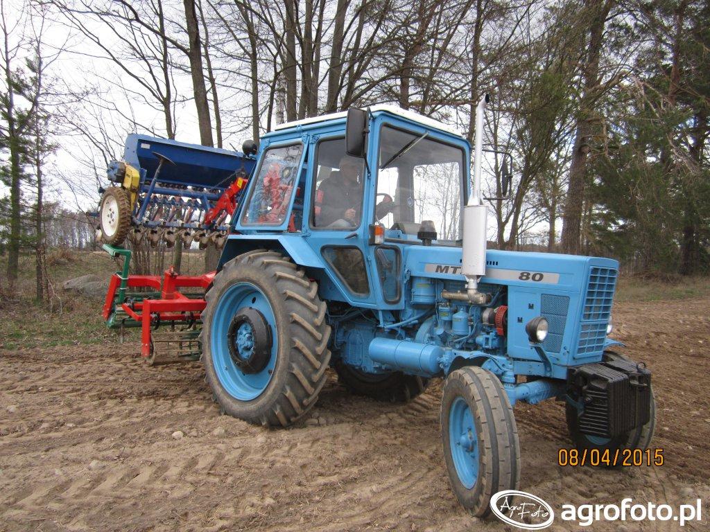 Mtz 80 & Agregat Uprawowo Siewny Agro Masz & Poznaniak 6