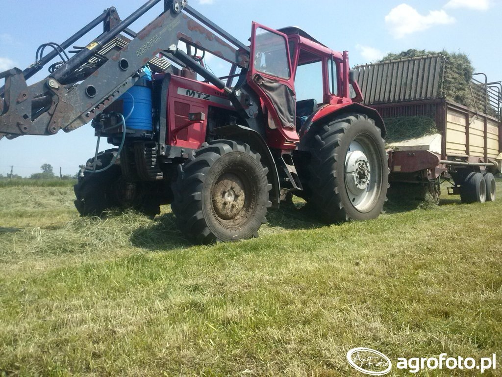 MTZ 82 + Krone Turbo 5000