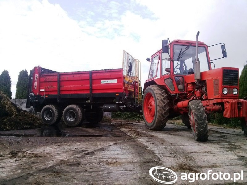Mtz Belarus 82 i Metal-fach N267/1