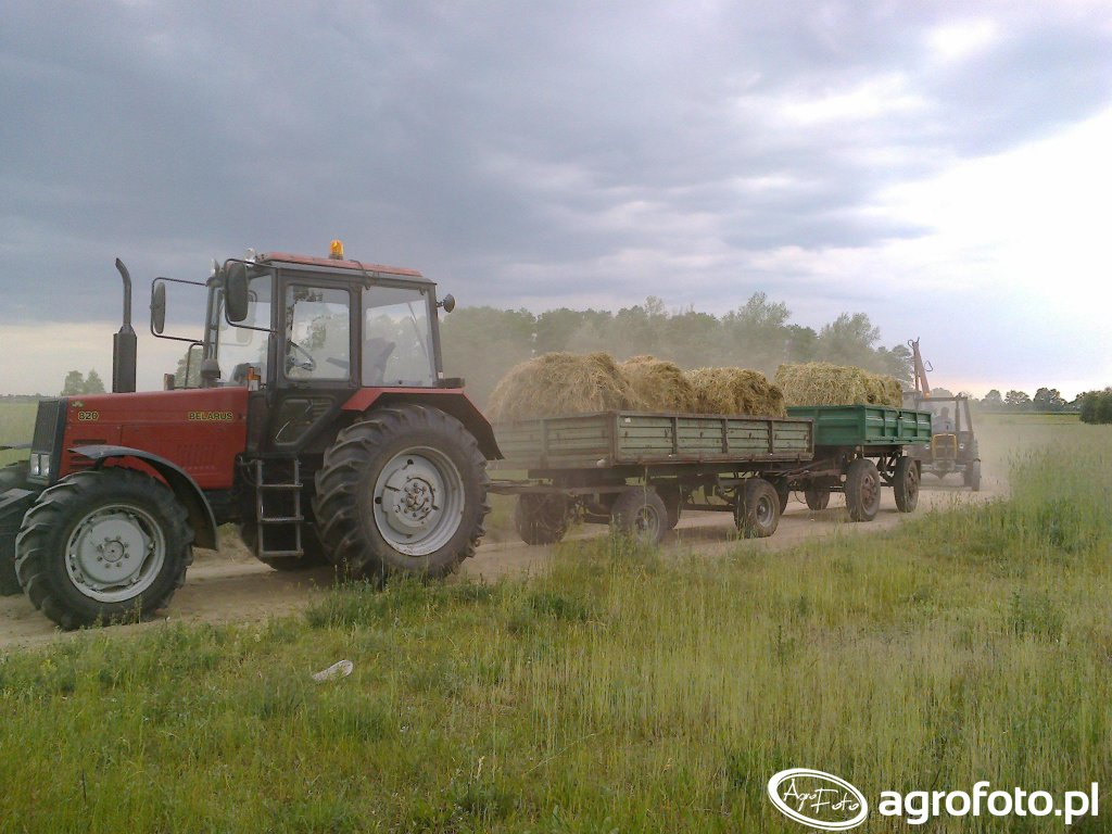 MTZ Belarus 820