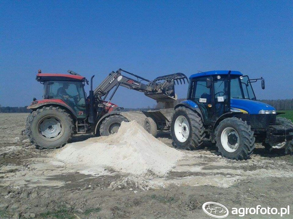 Mc.Cormick X60.30 & New Holland TD5050