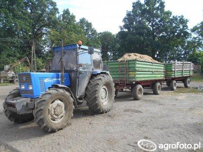 New Holland 70-56 DT & Pronar