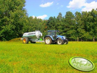 New Holland T5030 & Joskin 8400