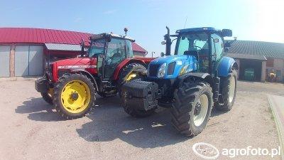 New Holland T6050 RC & Massey Ferguson 4360