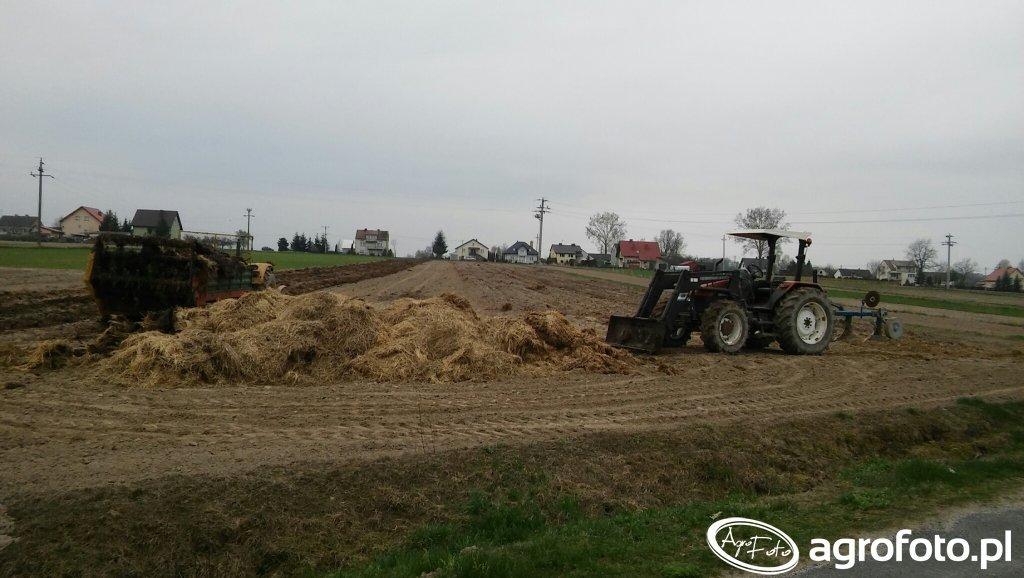 New Holland L75 & Ursus C-360