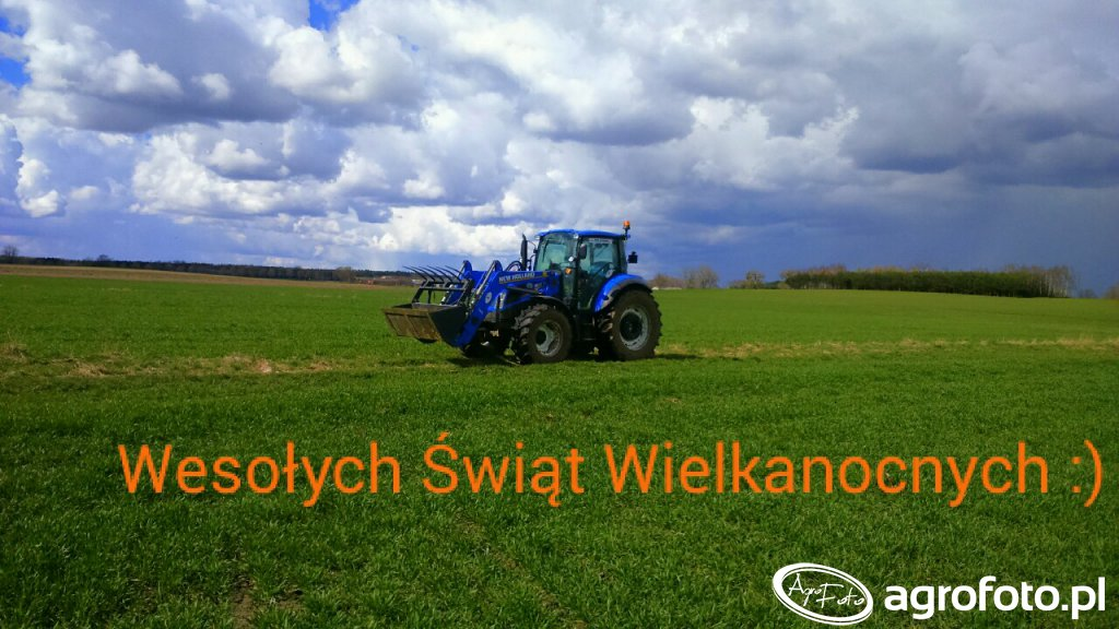 New Holland t4 85