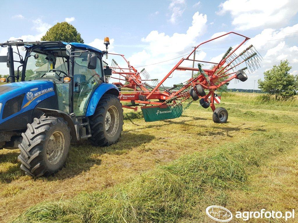 New Holland T4.55 Kverneland 9476c