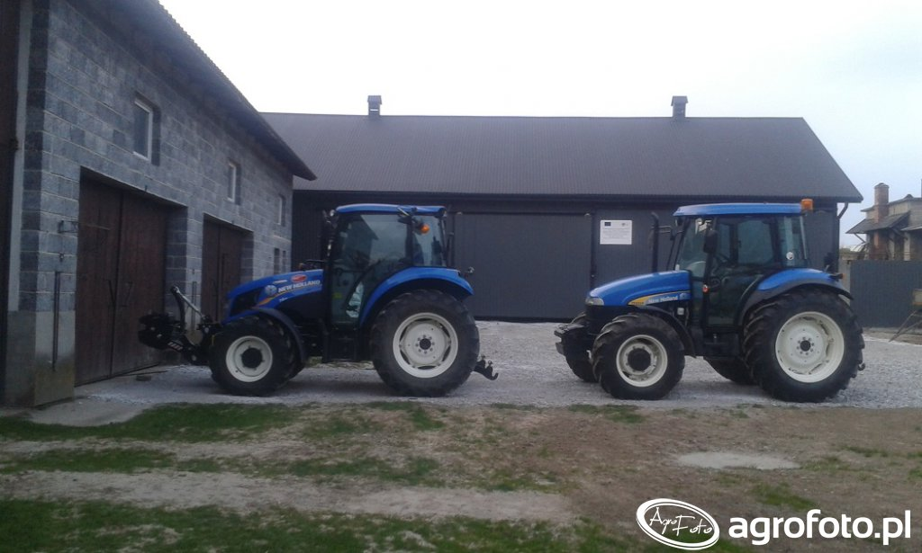 New Holland T4.65 & TD5030