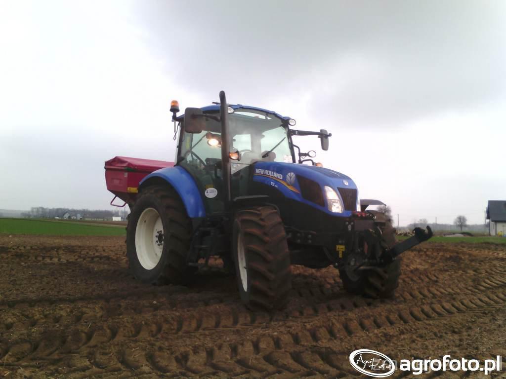 New Holland T5 105 + Mx 1200