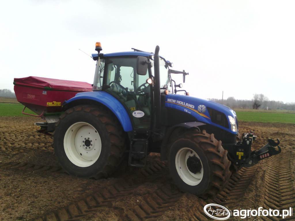 New Holland T5 105 + Mx 1200