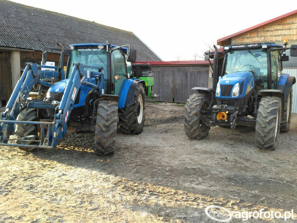New Holland T5060 i T6030