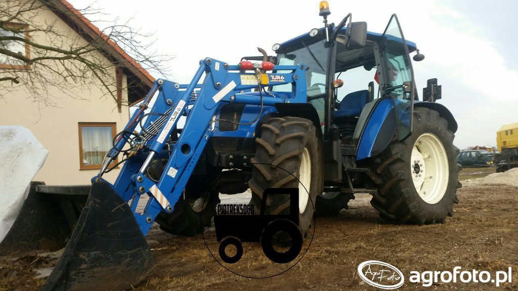 New Holland T5060/Polmot-Warfama 6/Łyżka