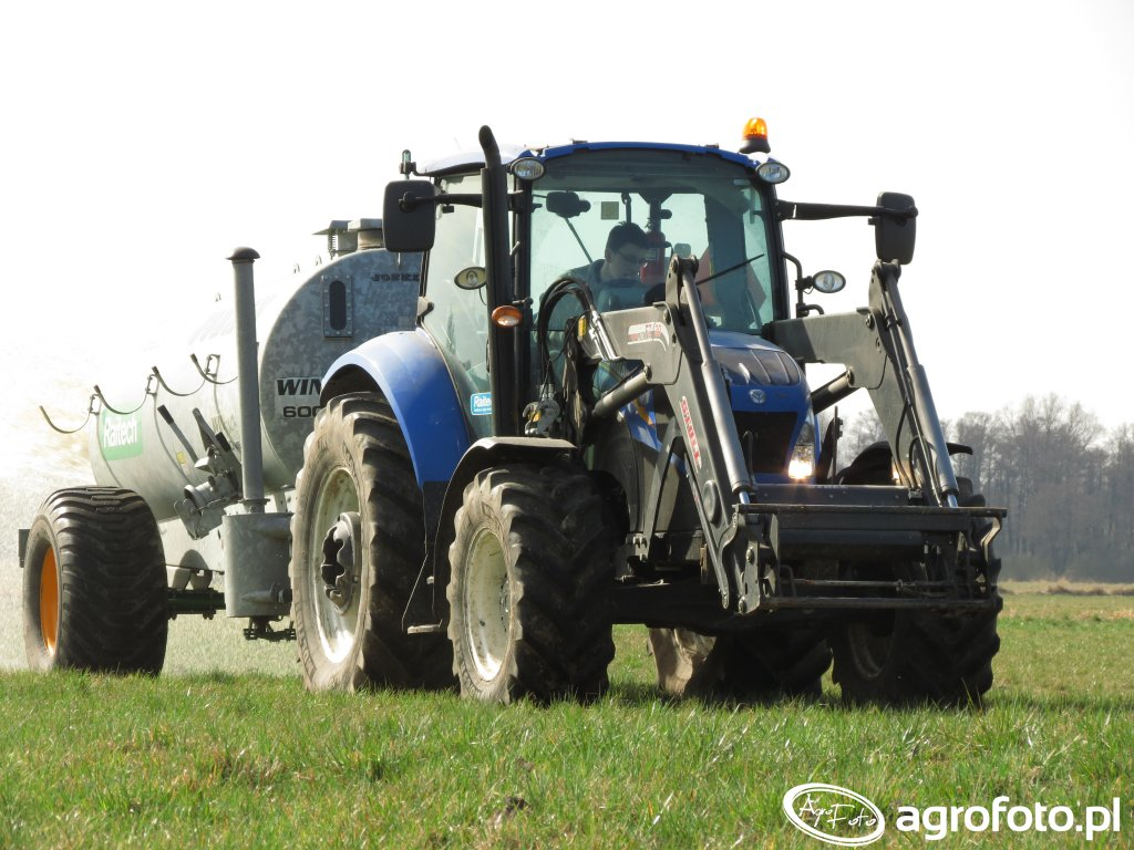 New Holland T5.105 Joskin Modulo2 6000l