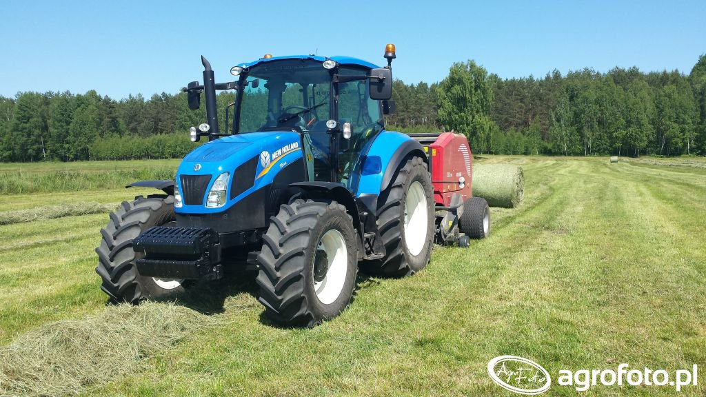 New Holland T5.105 & Metal - Fach Z-562 RN