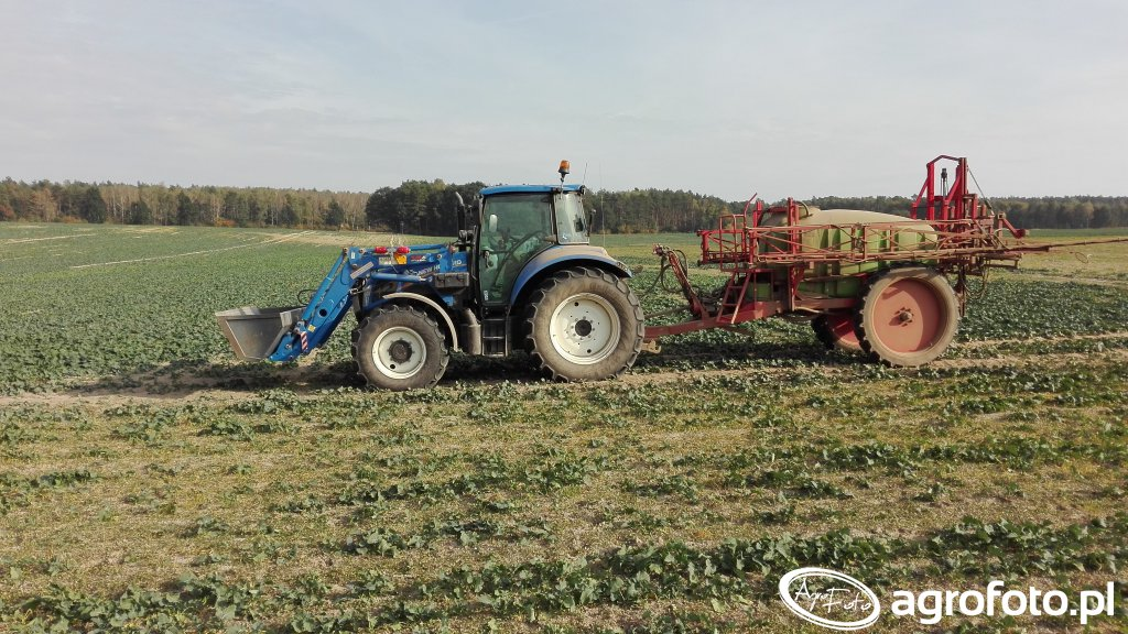 New Holland T5.105 + Moskit 2500/ 21