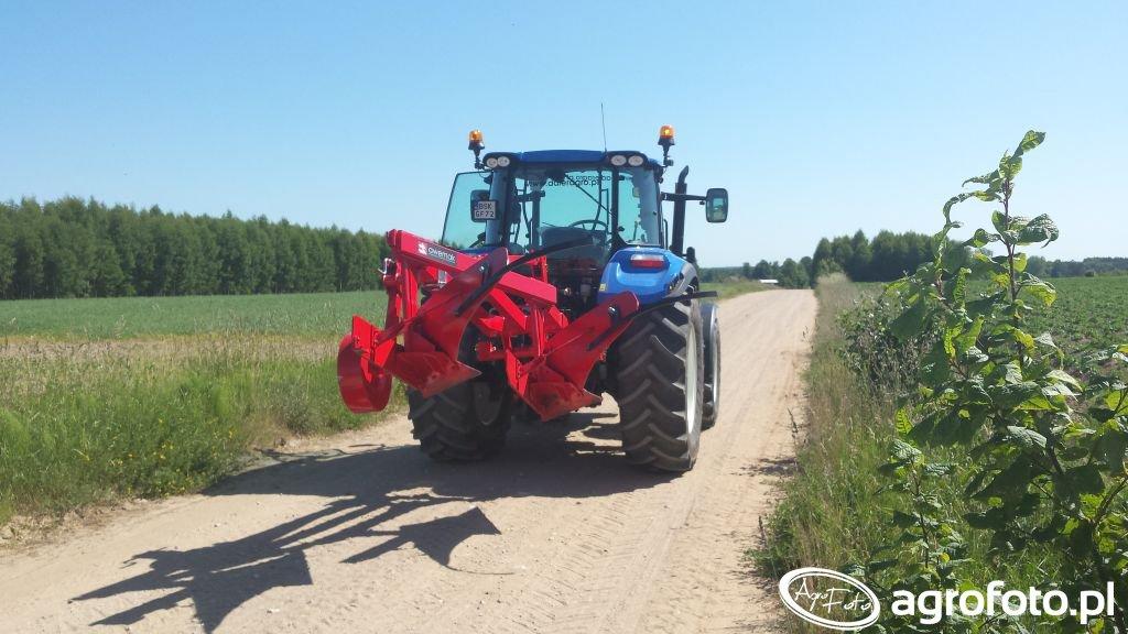 New Holland T5.105 & pług łąkowy