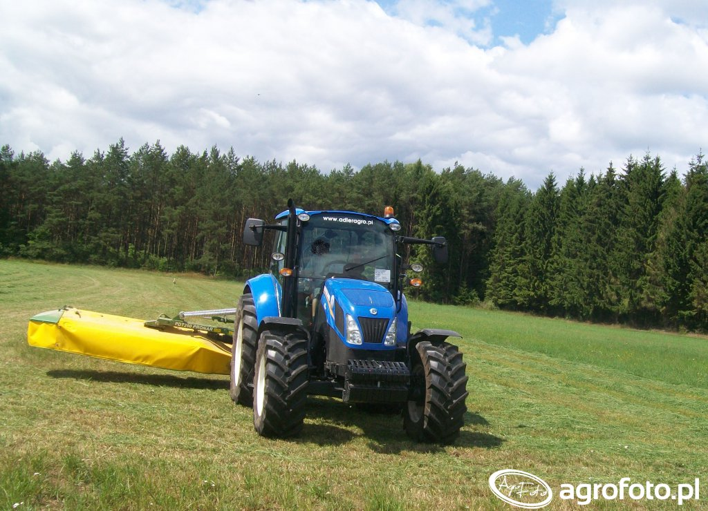 New Holland t5.95 + Pronar PDT260 1