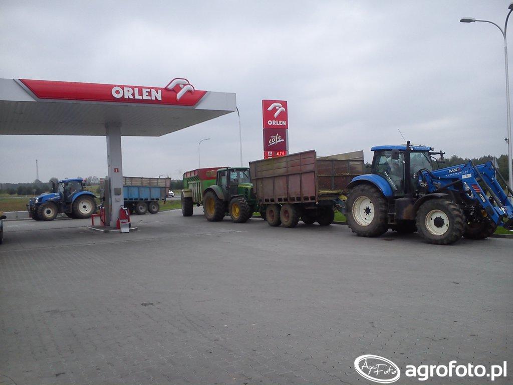 New Holland T6 + T7 + JD