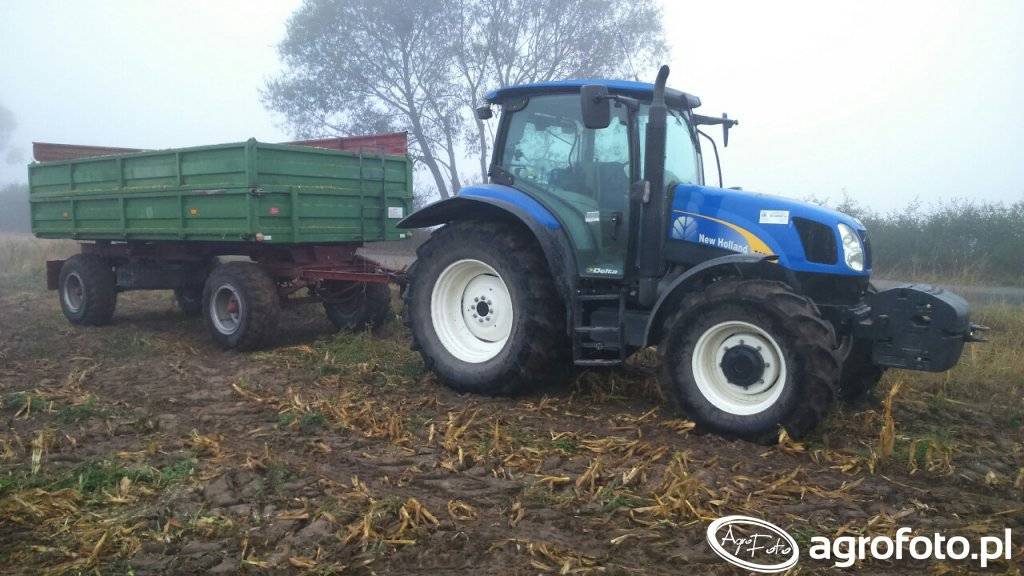 New Holland T6010 + HL