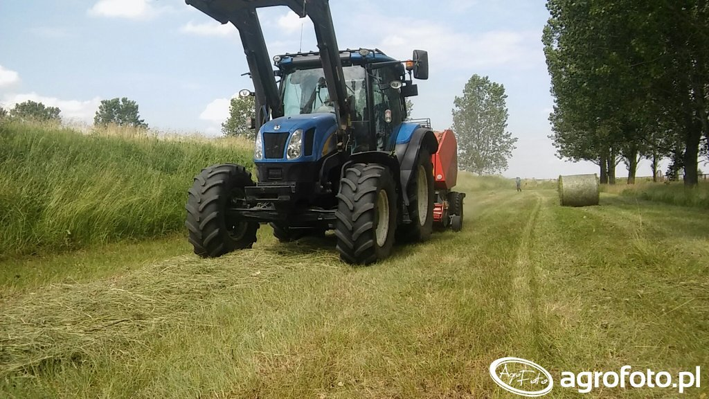 New Holland T6010 i Unia Famarol