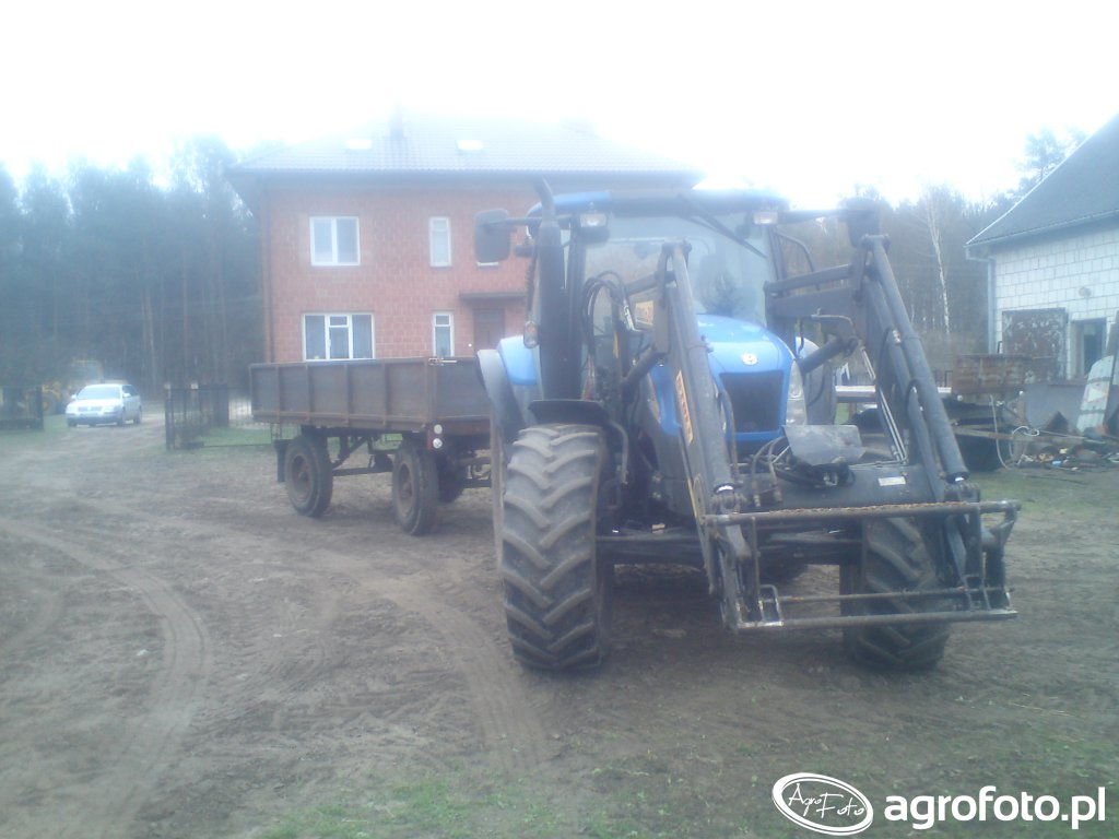 New Holland T6020 Delta & Autosan D46