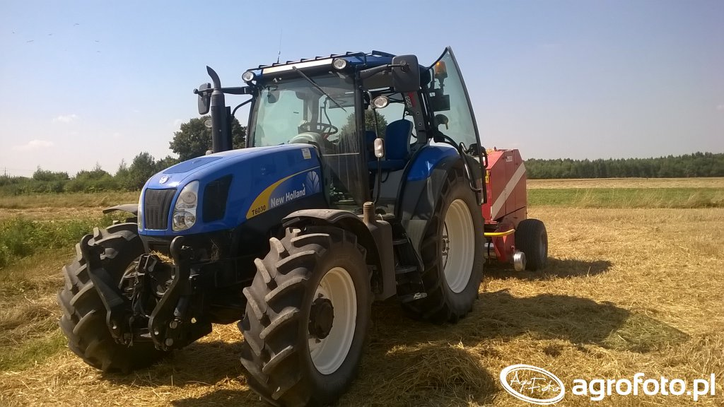 New Holland T6030 Delta + Metal-Fach