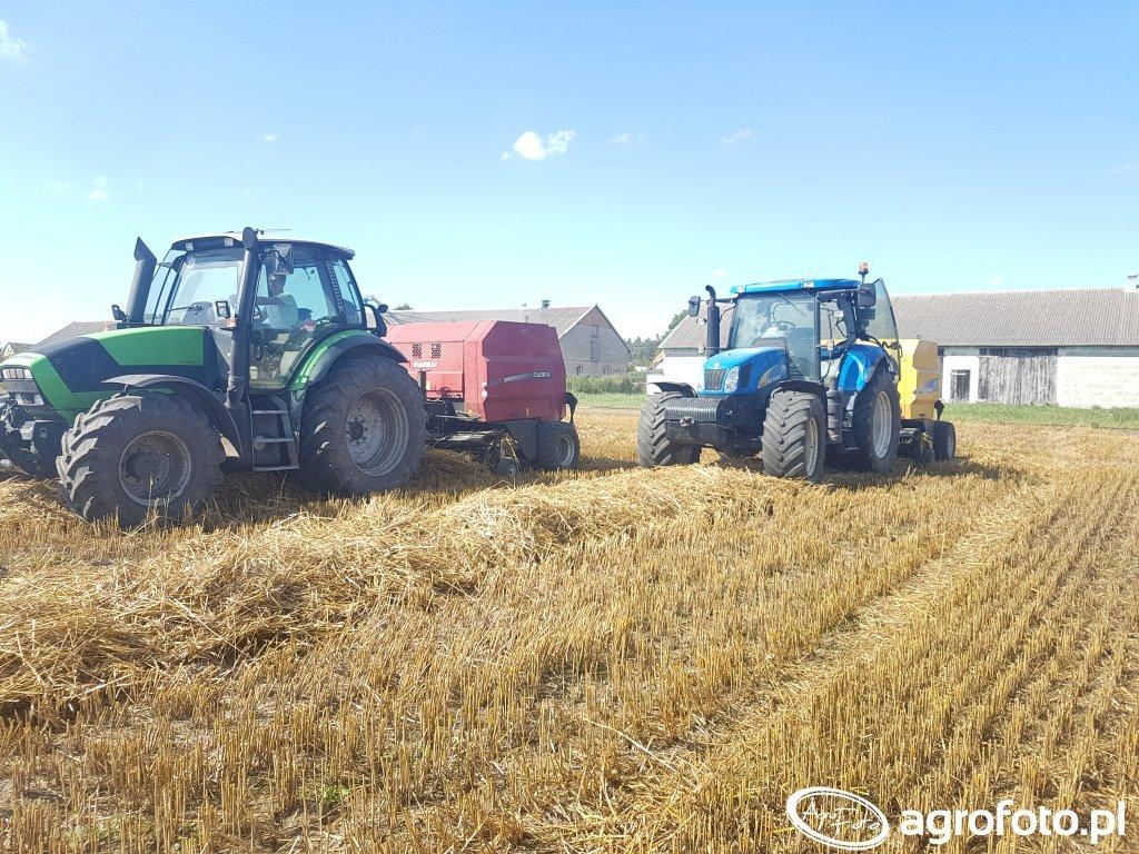 New Holland t6070 & br6090 Deutz Fahr m600 & Case rb344