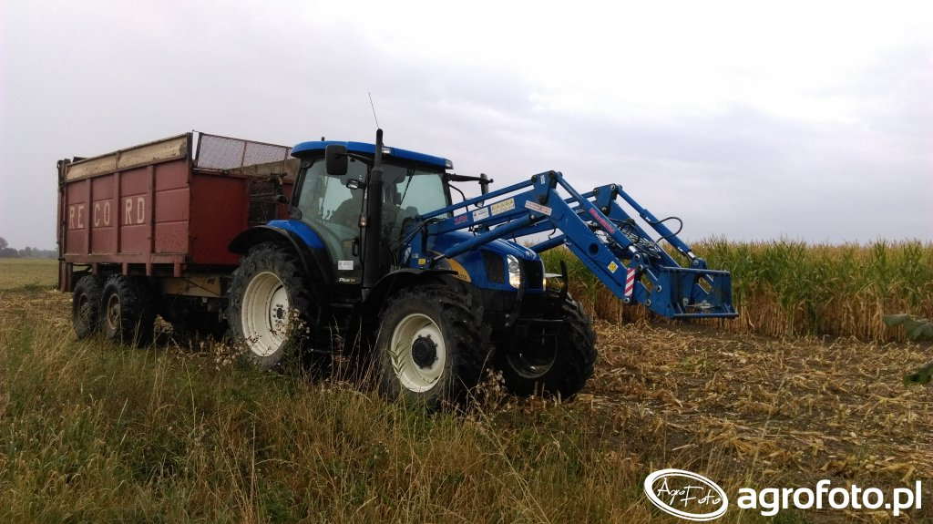 New Holland T6070 & Record
