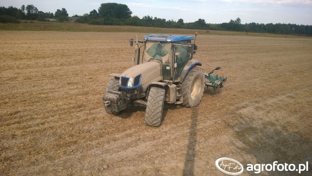 New Holland T6070 & Sulky