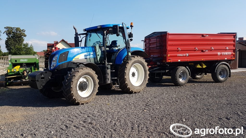 New Holland T6080 Metal-Fach