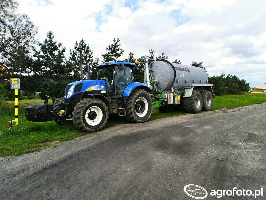 New Holland T6090 PC & Joskin Quadra 20000l