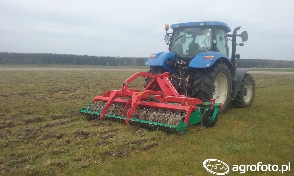 New Holland T6.120 & Agro-Masz
