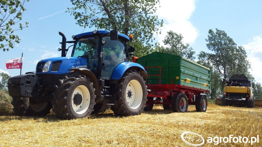 New Holland T6.120 i MetalTech