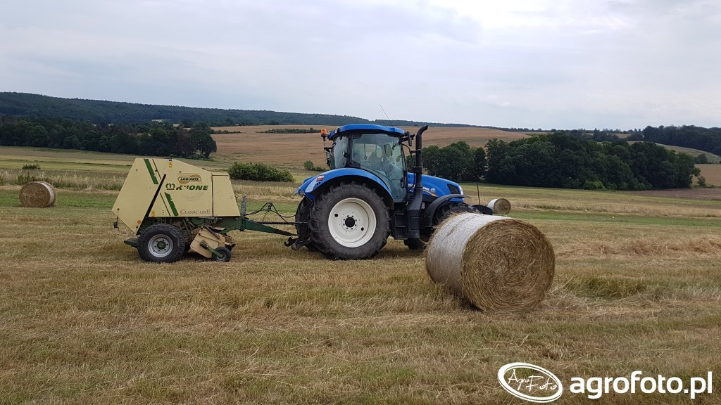 New Holland T6.120 Krone