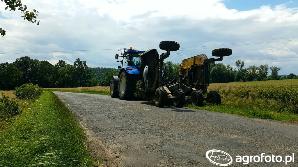 New Holland T6.120 Mulczer Strom
